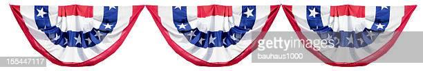Patriótica estadounidense elección Bunting decoración