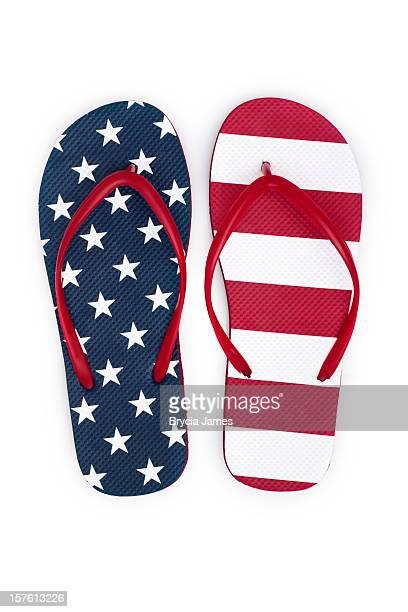 Des tongs patriotique