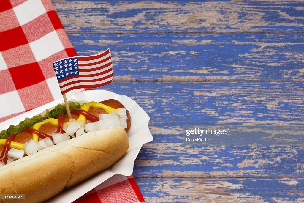 Patriotic Hotdog