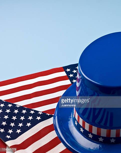 Patriotic on blue