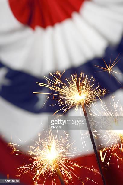 Patriotic Sparklers