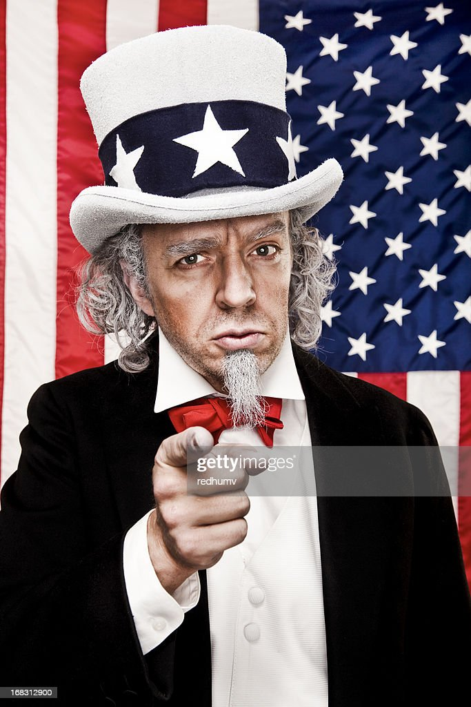 Patriotic Uncle Sam Wants YOU