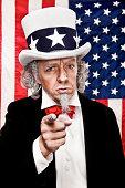 Patriotic Uncle Sam Wants YOU