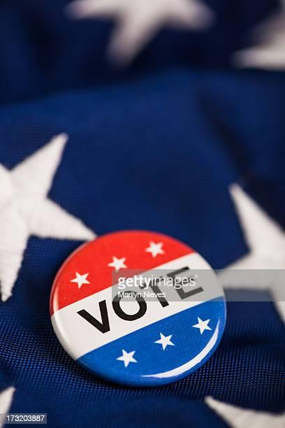 patriotic Vote pin