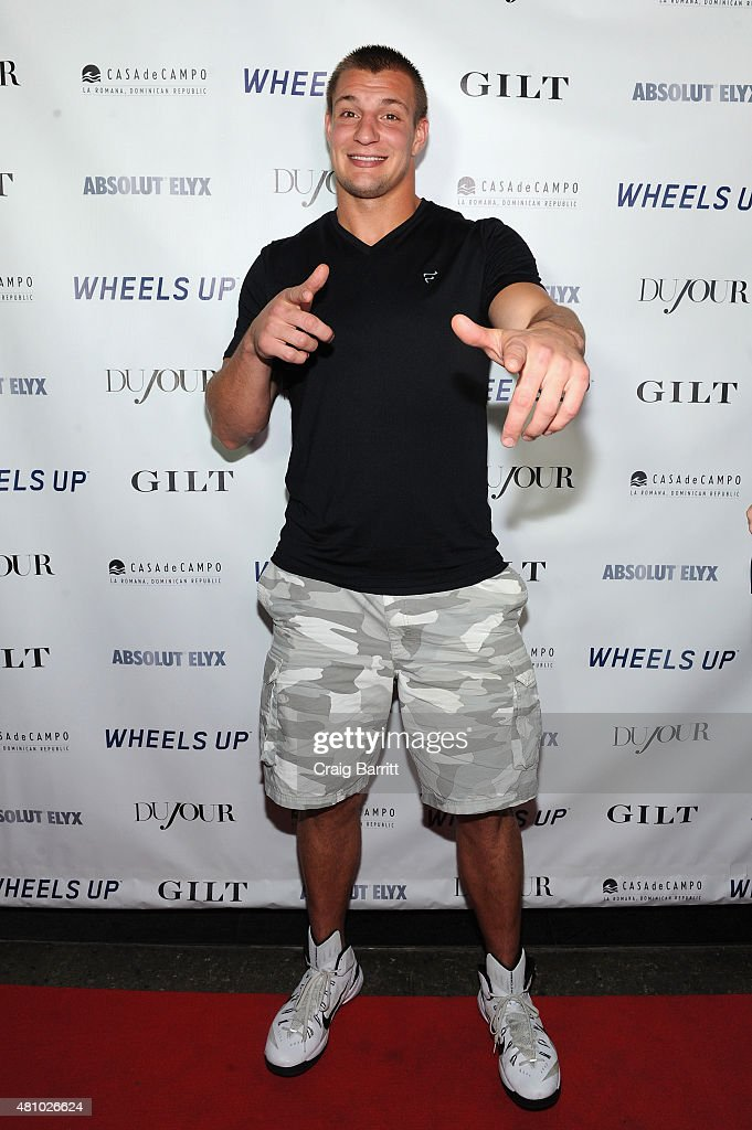 DuJour Magazine's Jason Binn And Casa de Campo Celebrate Rob Gronkowski With Bruce Weber Presented By Absolut Elyx & Wheels Up At Lavo