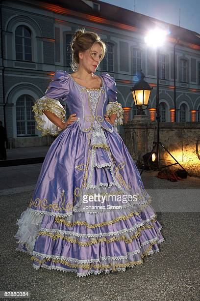 Patrizia LuegerRieffenstein attends the 'Fabulous Celebration' at Nymphenburg Castle on September 18 2008 in Munich Germany French champagne producer...