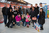 Kick In For Houston Participants Surprise Families...