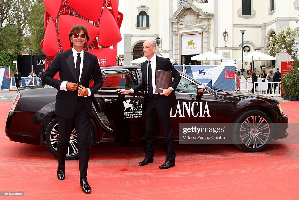 Patrizio di Marco attends World Restoration Premiere Of 'The Mattei Affair' at The 69th Venice International Film Festival at the Palazzo del Cinema on August 31, 2012 in Venice, Italy.