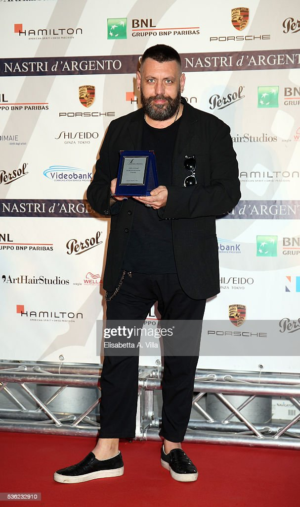 Patrizio Marone attends Nastri D'Argento 2016 Award Nominations at Maxxi on May 31, 2016 in Rome, Italy.
