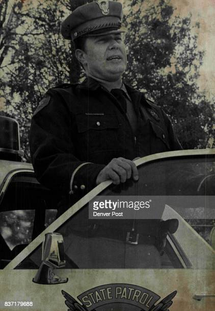 Patrolman Bill Copley Joined Patrol in 1964 Credit Denver Post