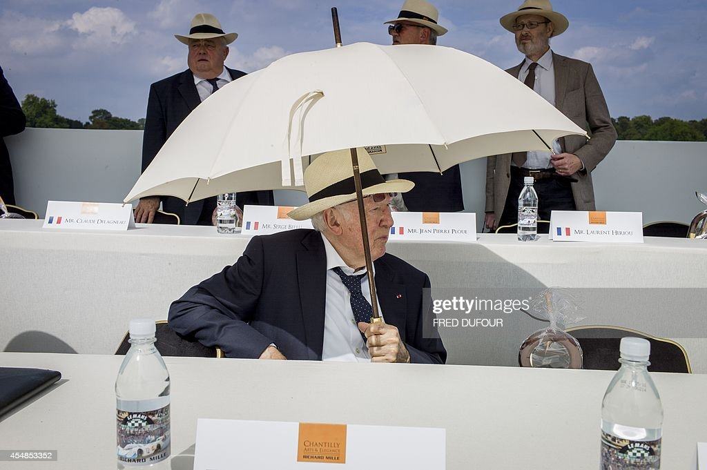 Patron of the Arts Adrien Maeght Head of the Maeght Foundation attend as jury member the first edition of the Chantilly Arts and Elegance Richard...