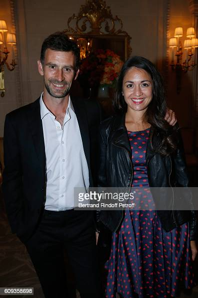 Patron of the foundation Vincent Chatelain attend the Charity Dinner to Benefit 'Claude Pompidou Foundation' following the 'Cezanne et Moi' movie...