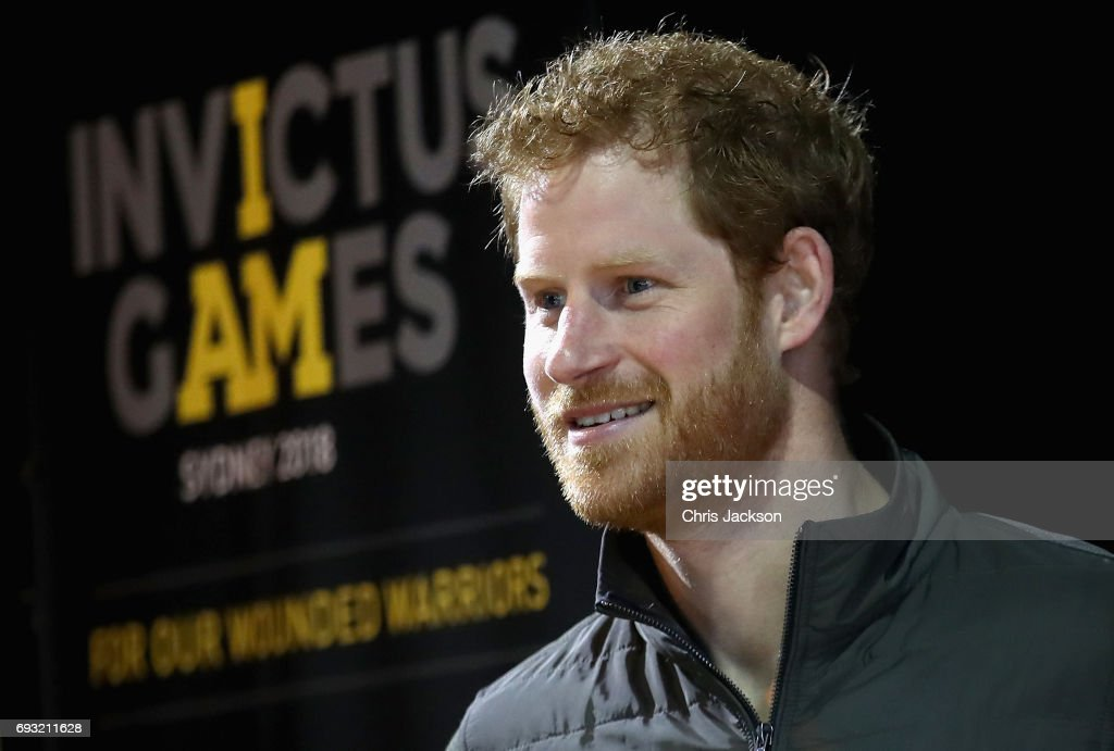 Patron of the Invictus Games Foundation Prince Harry attends an Invictus Sydney 2018 Launch Event at the Overseas Passenger Terminal on June 7, 2017 in Sydney, Australia. Prince Harry is on a two-day visit to Sydney for the launch of the Invictus Games Sydney 2018. The fourth Invictus Games will be held in Sydney from 20th to 27th October, 2018 and will include over 500 competitors from 17 nations competing in 10 adaptive sports events.