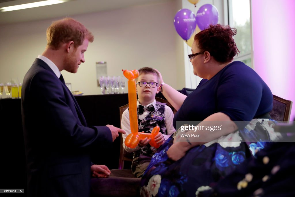 Prince Harry Attends The WellChild Awards Ceremony