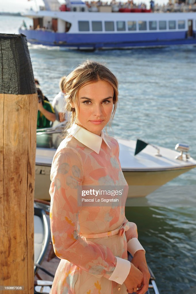 Patroness Kasia Smutniak attends a photocall at the Laguna Terrace during the 69th Venice International Film Festival on August 28, 2012 in Venice, Italy.
