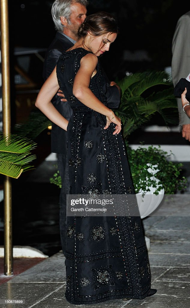 Patroness Kasia Smutniak is seen during the 69th Venice International Film Festival on August 28, 2012 in Venice, Italy.