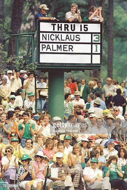 Patrons At The 16th Green Of The 1980 Masters Tournament