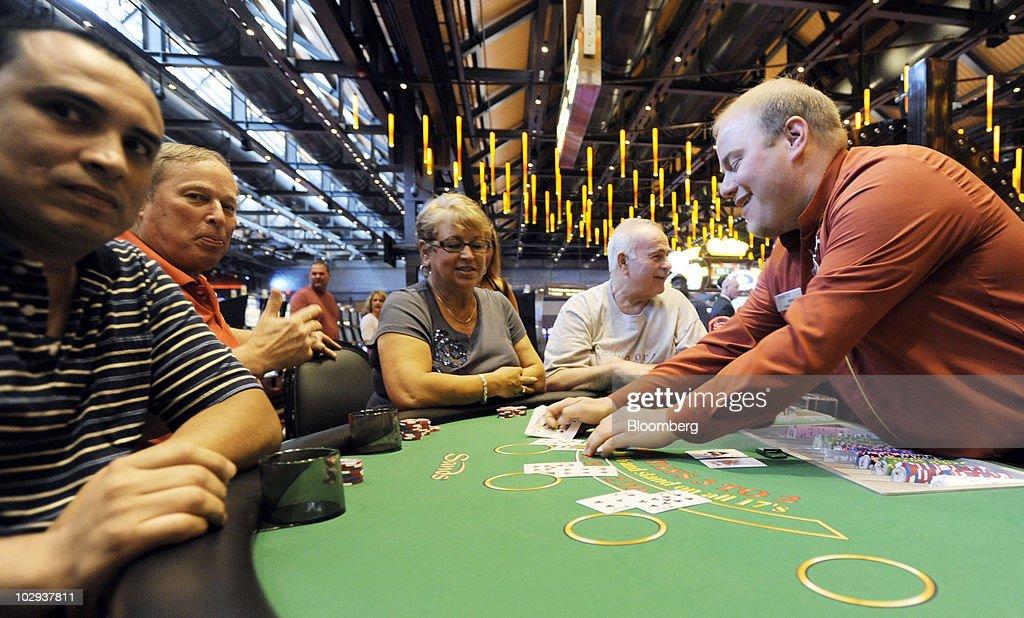 Lej et blackjack bord