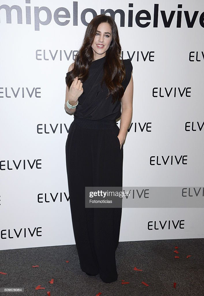 Patry Jordan is presented as a new Elvive Ambassador at the ME Reina Victoria Hotel on February 11, 2016 in Madrid, Spain.