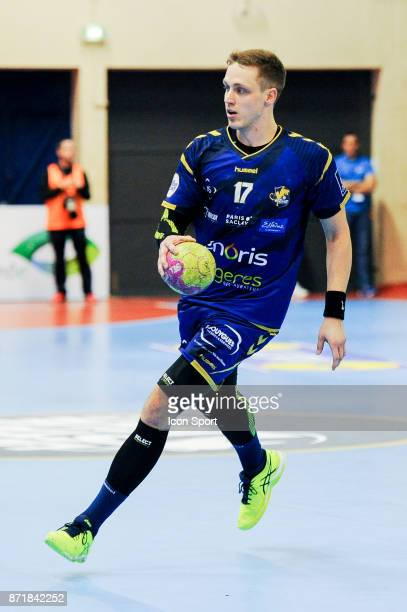 Patryk Walczak of Massy during the Lidl Starligue match between Massy and Chambery on November 8 2017 in Massy France