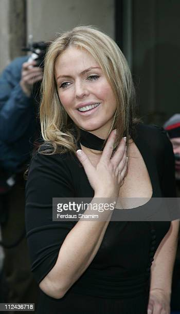 Patsy Kensit arrives at The Grosvenor House Hotel for The TRIC Awards 2008 on March 11 2008 in London England