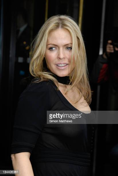 Patsy Kensit arrives for The TRIC Awards 2008 at The Grosvenor House Hotel on March 11 2008 in London England
