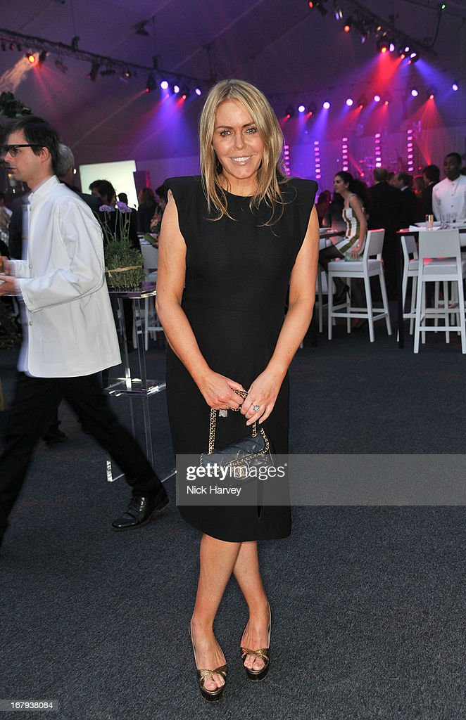 Patsy Kensit attends annual fundraiser in aid of Gabrielle's Angel Foundation for Cancer Research at Battersea Power station on May 2, 2013 in London, England.