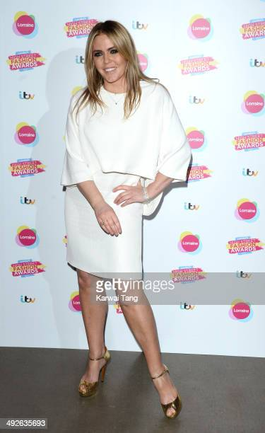 Patsy Kensit attends Lorraine's High Street Fashion Awards held at Vinopolis on May 21 2014 in London England