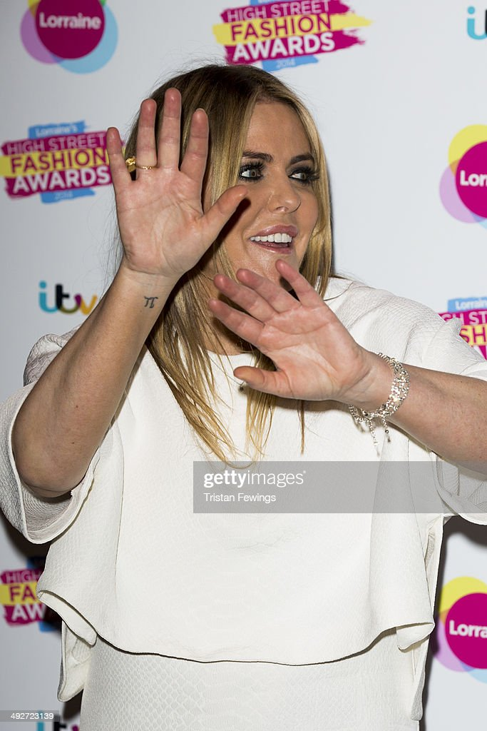 Patsy Kensit attends Lorraine's High Street Fashion Awards on May 21, 2014 in London, England.