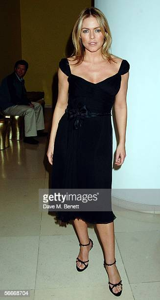 Patsy Kensit attends the Burns' Night VIP Fundraising Party celebrating Scotland's Robert Burns' presumed birthday at Asia de Cuba St Martin's Lane...