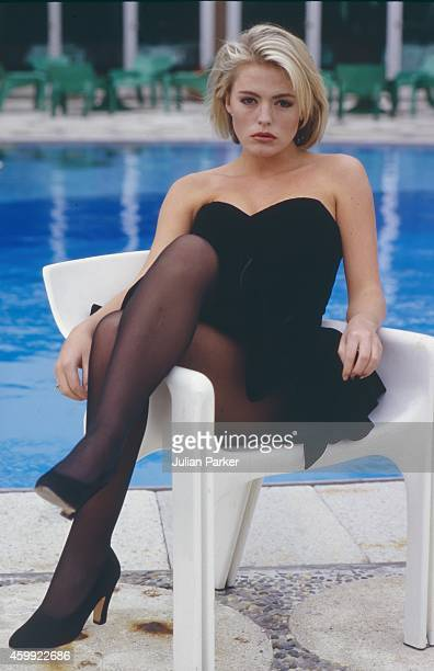 Patsy Kensit attends The San Remo Pop Festival on February 8 1987 in San Remo Italy