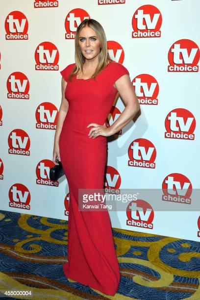 Patsy Kensit attends the TV Choice Awards 2014 at London Hilton on September 8 2014 in London England