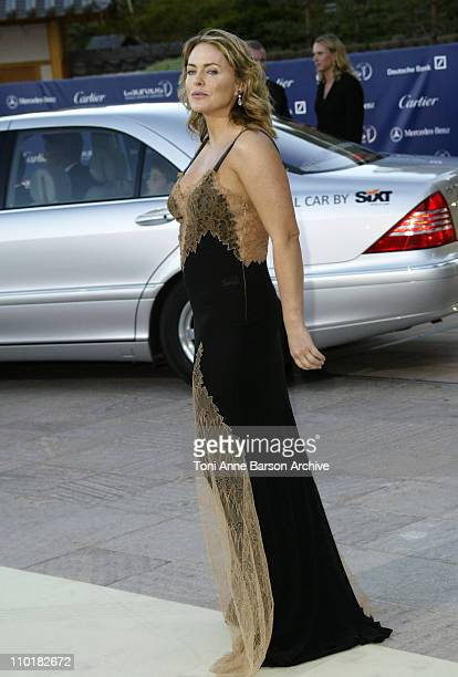 Patsy Kensit during 2003 Laureus World Sports Awards Arrivals at Grimaldi Forum in Monte Carlo Monaco