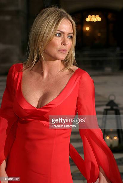 Patsy Kensit during ITV's 50th Anniversary Royal Reception Outside Arrivals at Guildhall in London Great Britain