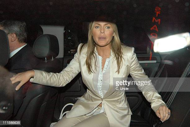 Patsy Kensit during Patsy Kensit Sighting at The Ivy Restaurant March 3 2005 at The Ivy Restaurant in London Great Britain