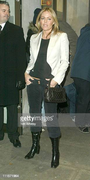 Patsy Kensit during 'Stoned' London Premiere Outside Arrivals at Apollo West End Cinema in London Great Britain