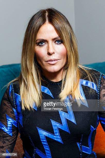 Patsy Kensit poses ahead of attending a screening and QA event for 'Absolute Beginners' at BFI Southbank on September 22 2015 in London England