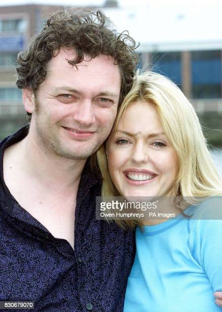 Patsy Kensit With Michael Hodgson at the prefilming launch of her next film which she described as being about 'people in the wrong relationships...