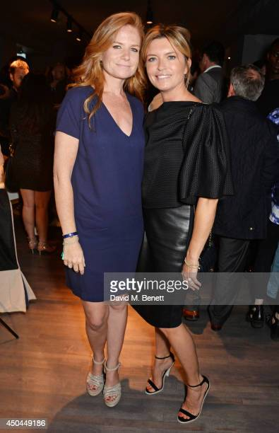 Patsy Palmer and Tina Hobley attend the worldwide exclusive launch of YOO Home at Harrods on June 11 2014 in London England