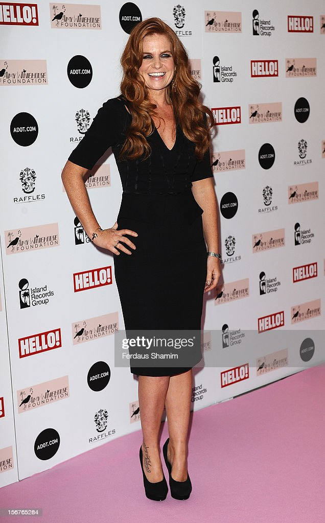 Patsy Palmer attends The Amy Winehouse Foundation Ball on November 20, 2012 in London, England.