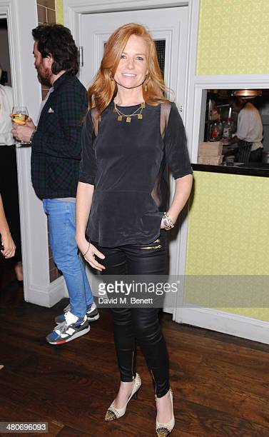 Patsy Palmer attends the launch of Natasha Corrett and Vicki Edgson's new book 'Honestly Healthy For Life' at Bumpkin Notting Hill on March 26 2014...
