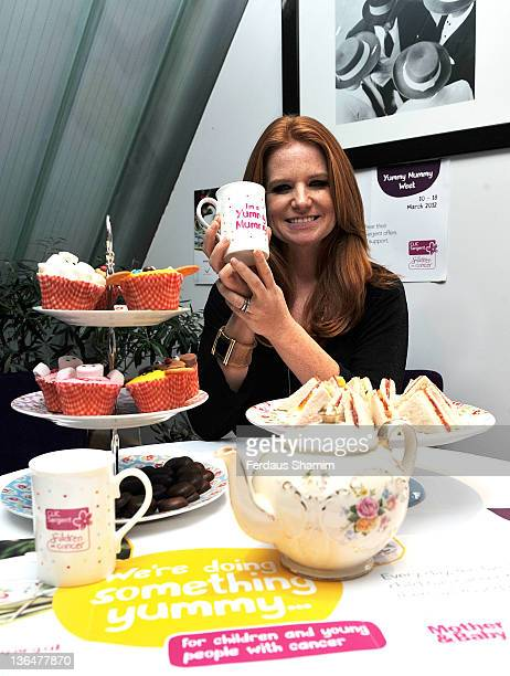 Patsy Palmer attends the Yummy Mummy Week 2012 tea party at Cavallino Restaurant on January 6 2012 in London England