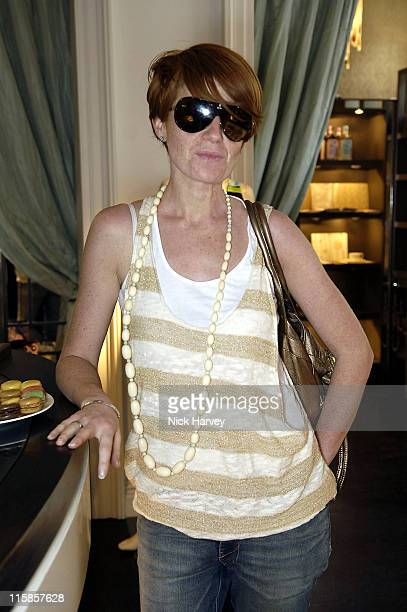Patsy Palmer during Allegra Hicks Tea Party May 4 2006 at Allegra Hicks Store in London Great Britain