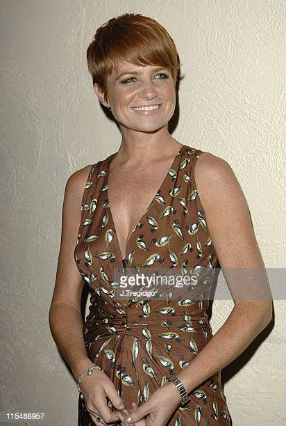 Patsy Palmer during The Rushes Soho Short Film Festival Awards Party at cc Club in London Great Britain