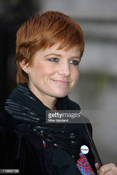 Patsy Palmer during Woman's Own Children of Courage 2004 at Westminster Abbey in London Great Britain