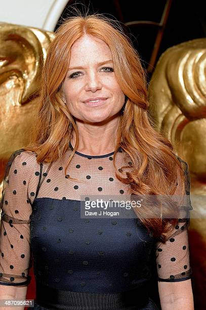 Patsy Palmer poses in the Press Room at the BAFTA Television Craft Awards 2014 at The Brewery on April 27 2014 in London England