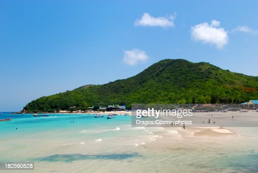 Pattaya beach, Ko lan, Thailand