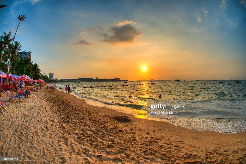 Pattaya Beach, Pattaya, Thailand