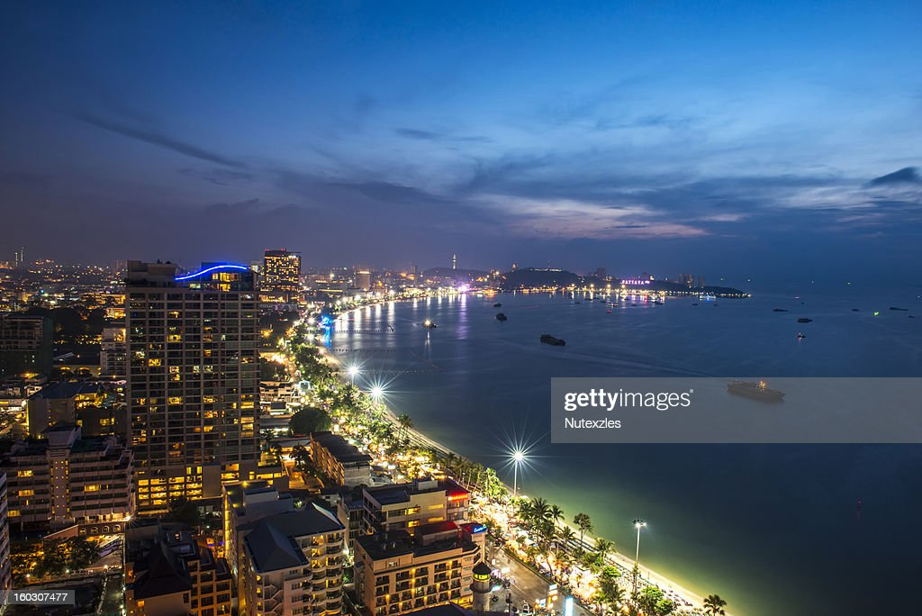 Pattaya city : Stock Photo
