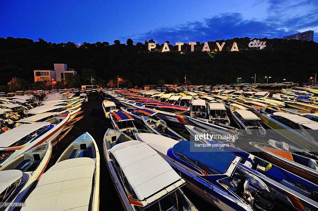 Pattaya neon sign